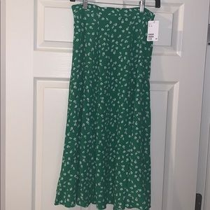 Midi skirt. Never worn